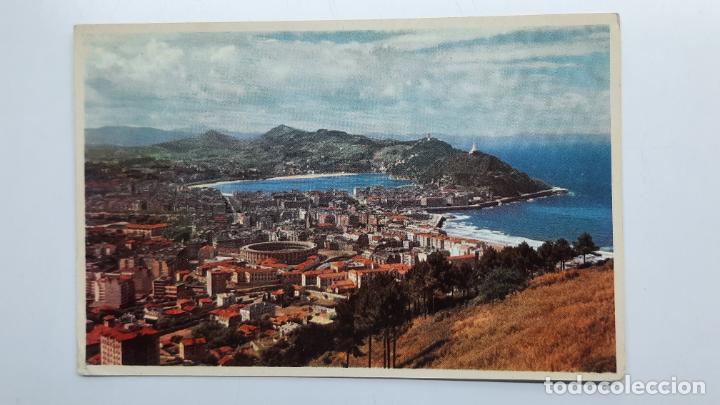 POSTAL SAN SEBASTIÁN (GUIPÚZCOA), VISTA DESDE MONTE ULÍA, ESPERON Nº 23 (Postales - España - País Vasco Moderna (desde 1940))