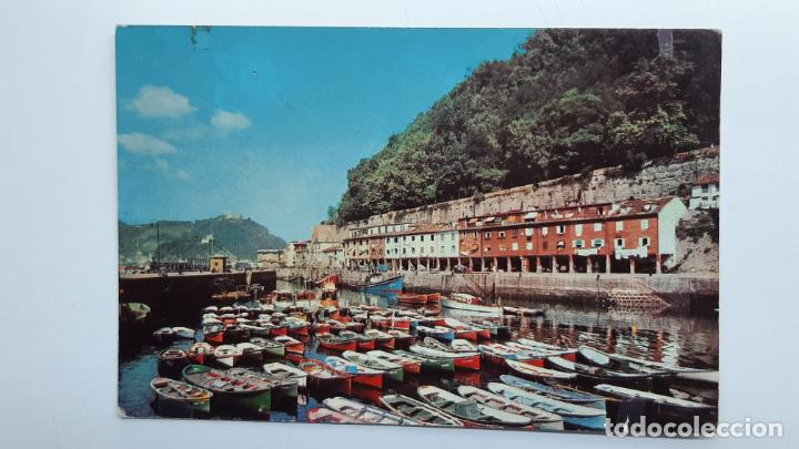 POSTAL SAN SEBASTIÁN (GUIPÚZCOA), PUERTO PESQUERO, EDICIONES ESPAÑOLAS ALBA Nº 8 (Postales - España - País Vasco Moderna (desde 1940))