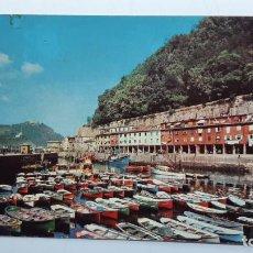 Postales: POSTAL SAN SEBASTIÁN (GUIPÚZCOA), PUERTO PESQUERO, EDICIONES ESPAÑOLAS ALBA Nº 8. Lote 263622875