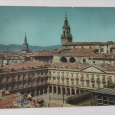 Postales: POSTAL 1 VITORIA VISTA PARCIAL. EN PRIMER TÉRMINO, LA CASA DE LA CIUDAD. Lote 264455494