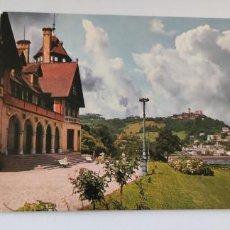 Postales: POSTAL 41 SAN SEBASTIÁN PALACIO DE MIRAMAR Y MONTE IGUELDO. Lote 264456044