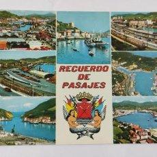 Postales: POSTAL 6 RECUERDO DE PASAJES 1969. Lote 264456619