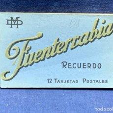 Postales: 12 POSTALES RECUERDO FUENTERRABIA MARCEL DELBOY BORDEAUX PHOTOTYPIE 9X15CMS. Lote 265790154