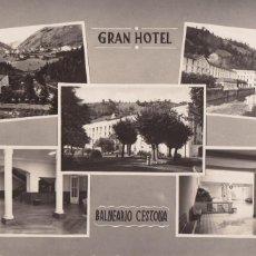 Cartes Postales: BALNEARIO DE CESTONA GRAN HOTEL, VARIAS VISTAS. ED. ARRIBAS. SIN CIRCULAR. Lote 267658554