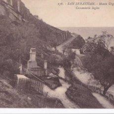 Cartes Postales: SAN SEBASTIAN MONTE URGULL CEMENTERIO INGLES. ED. GREGORIO.G. GALARZA Nº 176. CIRCULADA. Lote 267660129