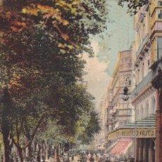 Cartes Postales: SAN SEBASTIAN LA ALAMEDA. ED. LL Nº 110. BYN COLOREADA. CIRCULADA EN 1910. Lote 267661684