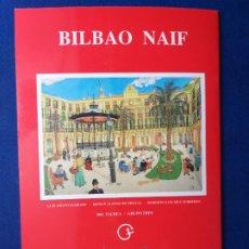 Postales: CUADERNO DE 24 POSTALES DE BILBAO. BILBAO NAIF. GRUPO TRES.. Lote 268426919