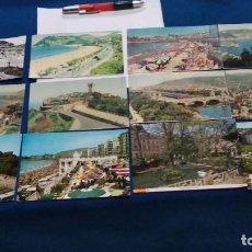Cartoline: LOTE TARJETAS 12 POSTALES AÑOS 60 ( POSTALES DE SAN SEBASTIAN ) VER FOTOS. Lote 268760074