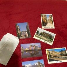 Postales: LOTE POSTALES MUSEO GUGGENHEIM BILBAO EN SOBRE ORIGINAL. Lote 268984589