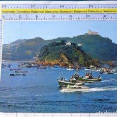 Postales: POSTAL DE GUIPÚZCOA. AÑO 1967 SAN SEBASTIAN, REGATA DE TRAINERAS. 65 MANIPEL. 286. Lote 269010704