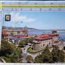 Postales: POSTAL DE GUIPÚZCOA. AÑO 1964. FUENTERRABIA HOTEL CARLOS V Y MIRAMAR 12 ESCUDO ORO. 291. Lote 269010899