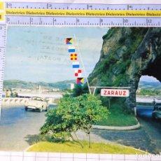 Postales: POSTAL DE GUIPÚZCOA. AÑO 1965 ZARAUZ CARRETERA DE LA COSTA. RENAULT GORDINI. NAYLLA. 299. Lote 269011274