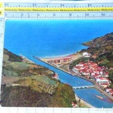 Postales: POSTAL DE GUIPÚZCOA. AÑO 1965 DEVÁ, VISTA AEREA 368 ALARDE. 300. Lote 269011309
