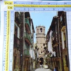 Postales: POSTAL DE GUIPÚZCOA. AÑO 1968. GUETARIA, CALLE MAYOR. 1 ALARDE. 302. Lote 269011459