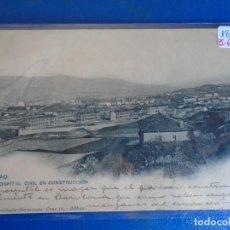 Postales: (PS-65606)POSTAL DE BILBAO-HOSPITAL CIVIL EN CONSTRUCCION.LANDABURU HERMANAS. Lote 269181133