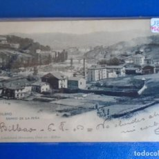 Postales: (PS-65608)POSTAL DE BILBAO-BARRIO DE LA PEÑA.LANDABURU HERMANAS. Lote 269181188