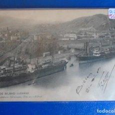 Postales: (PS-65610)POSTAL DE BILBAO-RIA.LUCHANA.LANDABURU HERMANAS. Lote 269181253