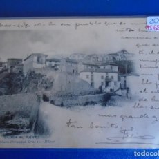 Postales: (PS-65613)POSTAL DE ALGORTA-BAJADA AL PUERTO.LANDABURU HERMANAS. Lote 269181358
