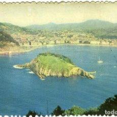Postales: Nº 8-SAN SEBASTIÁN. VISTA PARCIAL DESDE IGUELDO. CIRCULADA EN 1957. ED. FOTOCOLOR. Lote 269259443