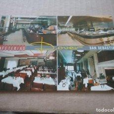 Postales: POSTAL PUBLICIDAD CAFETERÍA DOVER. SAN SEBASTIAN(464). Lote 269296673