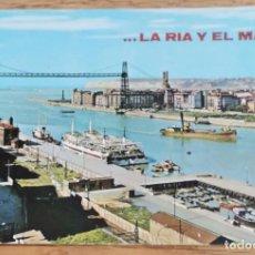 Postales: POSTAL - BILBAO - VISTA PANORÁMICA - PUENTE DE VIZCAYA - SAN CAYETANO.. Lote 269362673