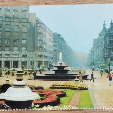 Postales: POSTAL - BILBAO - PLAZA DE FEDERICO MOYUA.. Lote 269365468