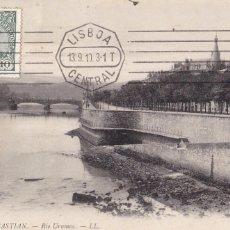 Postales: SAN SEBASTIAN RIO URUMEA. ED. LL Nº 60. POSTAL FRANCESA CIRCULADA EN 1910. Lote 269949758