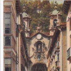 Postales: SAN SEBASTIAN CALLE MAYOR. ED. LL Nº 71. POSTAL FRANCESA EN BYN COLOREADA. SIN CIRCULAR. Lote 269950713