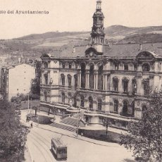Postales: BILBAO PALACIO DEL AYUNTAMIENTO. ED. L.G. BILBAO. SIN CIRCULAR. Lote 269955778