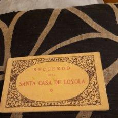 Postales: BLOG CON 20 FOTOTIPIAS THOMAS, SANTA CASA DE LOYOLA. Lote 269974793
