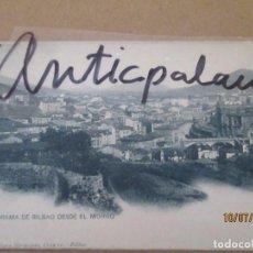Postales: POSTAL ANTIGUA - PANORAMA DE BILBAO DESDE EL MORRO - ORIGINAL EPOCA. Lote 274773493