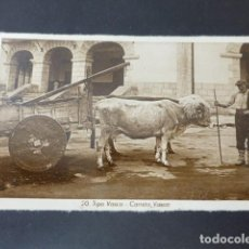Postales: BILBAO TIPO VASCO CARRETA VASCA. Lote 275159033