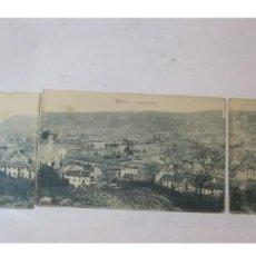 Postales: BILBAO-VISTA GENERAL-POSTAL TRIPLE ANTIGUA-(82.651). Lote 275602598