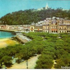 Postales: POSTAL SAN SEBASTIAN - AYUNTAMIENTO - HELIOTIPIA MADRID 1965 - CIRCULADA. Lote 275945078