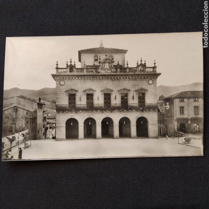 52 IRÚN, AYUNTAMIENTO. HELIOTIPIA ARTÍSTICA ESPAÑOLA - MADRID (Postales - España - País Vasco Moderna (desde 1940))