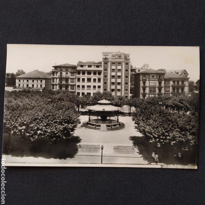56 IRÚN, PLAZA DE ESPAÑA. HELIOTIPIA ARTÍSTICA ESPAÑOLA - MADRID (Postales - España - País Vasco Moderna (desde 1940))