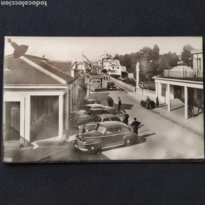 60 IRÚN, PUENTE INTERNACIONAL. HELIOTIPIA ARTÍSTICA ESPAÑOLA - MADRID (Postales - España - País Vasco Moderna (desde 1940))