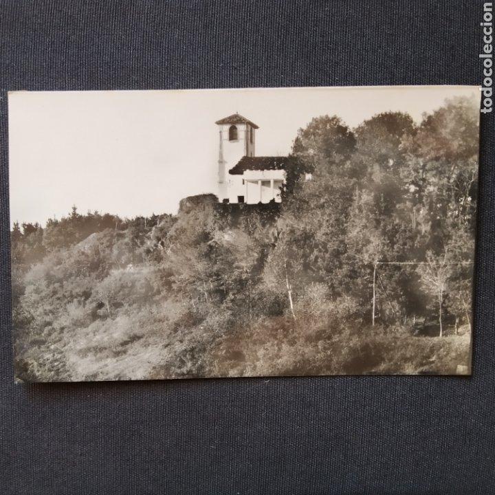 55 IRÚN, MONTE SAN MARCIAL: CAPILLA. HELIOTIPIA ARTÍSTICA ESPAÑOLA - MADRID (Postales - España - País Vasco Moderna (desde 1940))