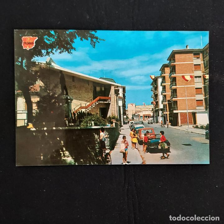 POSTAL AMURRIO. CALLE DEL FRONTÓN (ALAVA) ESCRITA 1972 SIN CIRCULAR. ANIMADA RARA 1971 NIÑOS (Postales - España - País Vasco Moderna (desde 1940))