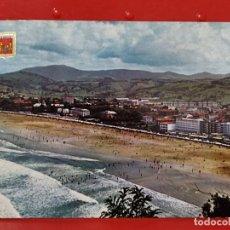 Postales: ZARAUZ ESCUDO ORO Nº 1 CIRCULADA PAIS VASCO MODERNA. Lote 277218308