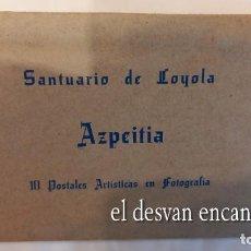 Postales: SANTUARIO DE LOYOLA. AZPEITIA. 10 POSTALES ARTÍSTICAS. Lote 277764188