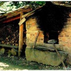 Postales: ETXEGOIEN (ARABA) - OGI LANGINTZARAKO LABEA - FOTO: RITXAR AGIRRE - ED. AYUNT. AIARA - 150X103 MM.. Lote 279353633