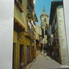 Postales: POSTAL FUENTERRABIA .-CALLE TIENDAS. Lote 279470993