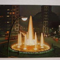 Cartoline: BILBAO - PLAZA ZABALBURU - FUENTE LUMINOSA - LAXC - P60546. Lote 283474553