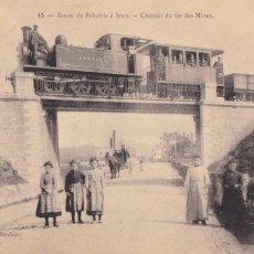 Cartoline: RUTA BÉHOBIA A IRUN FERROCARRIL DE LAS MINAS. POSTAL FRANCESA. VER REVERSO. Lote 285455668