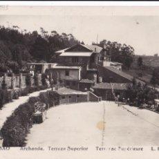 Postais: BILBAO, ARCHANDA TERRAZA SUPERIOR. ED. FOTO ROISIN Nº 538. CIRCULADA. Lote 285609843