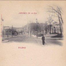 Cartes Postales: BILBAO, JARDINES DE ALBIA. ED. HAUSER Y MENET Nº 146. REVERSO SIN DIVIDIR. SIN CIRCULAR. VER REVERSO. Lote 286779603