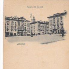 Cartes Postales: VITORIA, PLAZA DE BILBAO. ED. HAUSER Y MENET Nº 311. REVERSO SIN DIVIDIR. SIN CIRCULAR. VER REVERSO. Lote 286780573