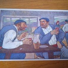 Cartoline: TIPOS VASCOS. PAÍS VASCO. POSTAL ORIGINAL ANTIGUA. JOSÉ ARRUE Nº 2. Lote 287022708