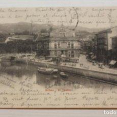 Cartoline: POSTAL BILBAO, EL TEATRO, P.Z.. Lote 287097993